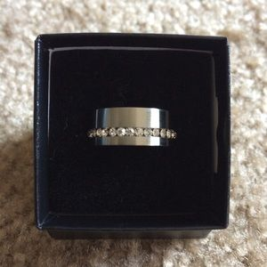 Other - Stainless Steel Ring Size 8 NEW🎁With out tags.